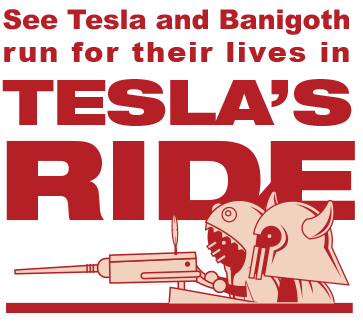 Tesla's Ride webcomic